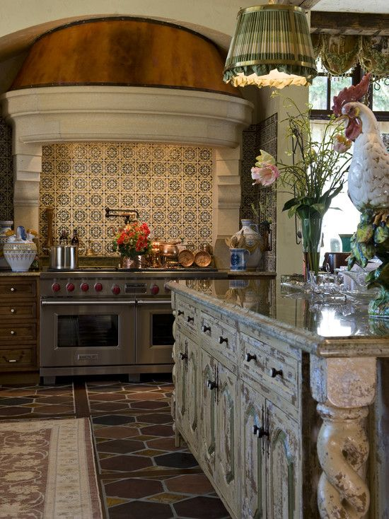 Kitchen with old world charm (1 of 5 views - click through to houzz to see more of this kitchen.)