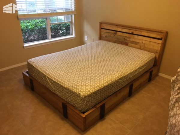 promo code 58a40 37101 Pallets & Misc Warehouse Parts Can Make a Good Bed | Home ...