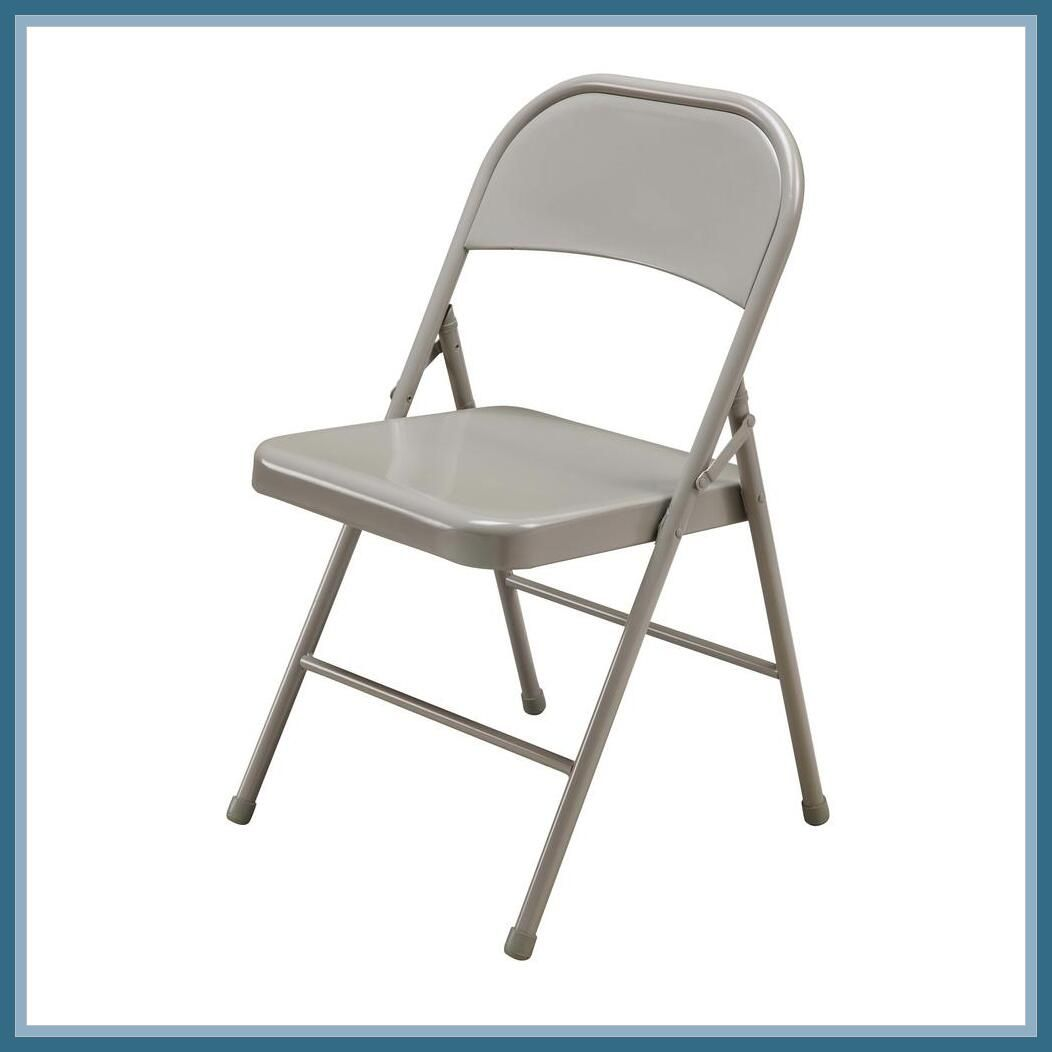 127 Reference Of Bench Chair Metal In 2020 Folding Chair Padded Folding Chairs Metal Chairs