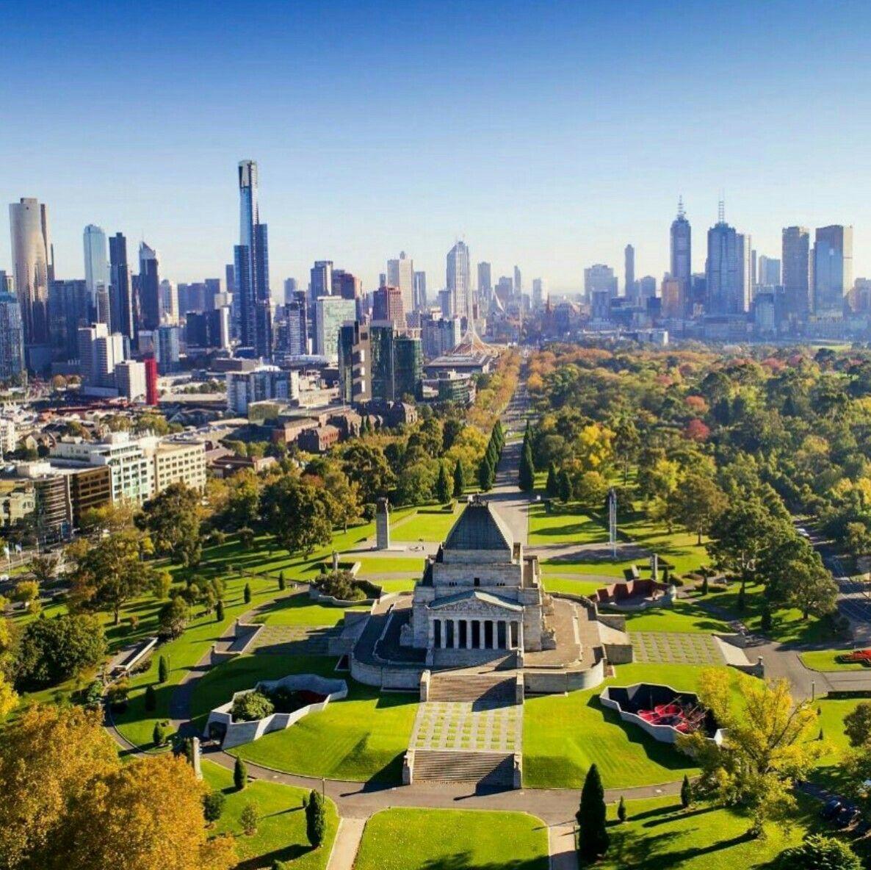 Brisbane And Melbourne: Shrine Of Remembrance, Melbourne