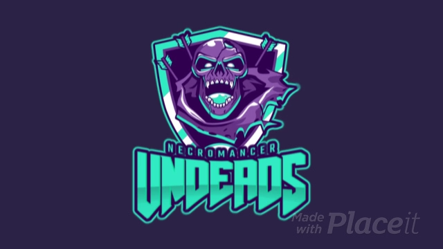 Animated Gaming Logo Maker for Zombie Gamers