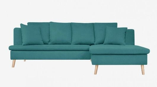 MONOQI | Right Newport Sofa - Turquoise | Sofas | Pinterest ...