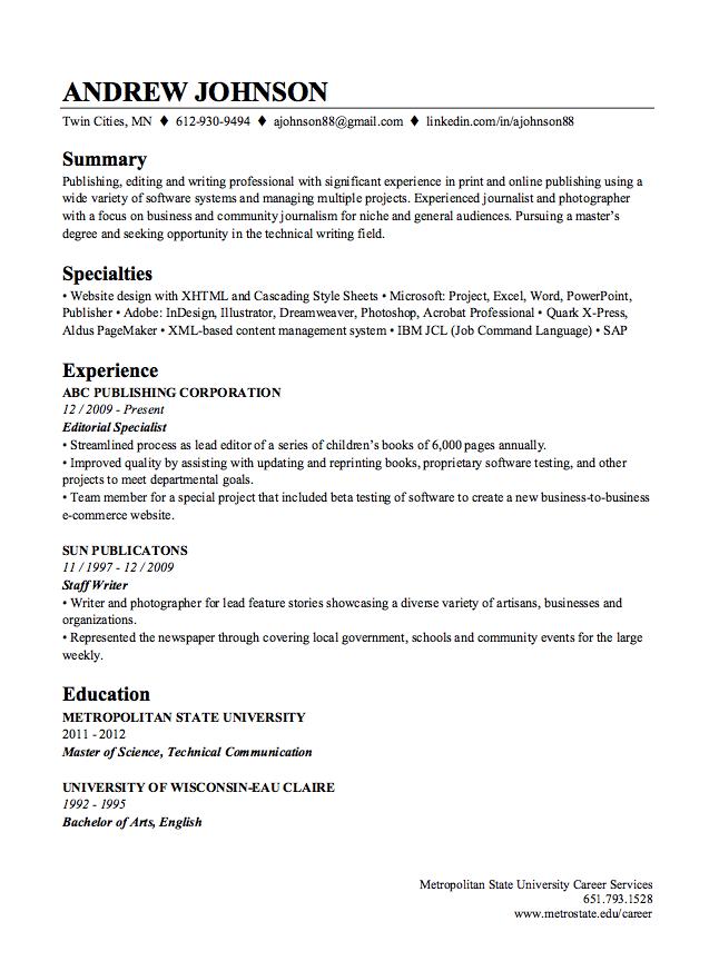 Resume Builder With Linkedin