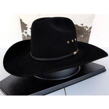 b2f1985657a Resistol Cowboy Hat 4X Beaver Fur Black Hill Country George Strait ...