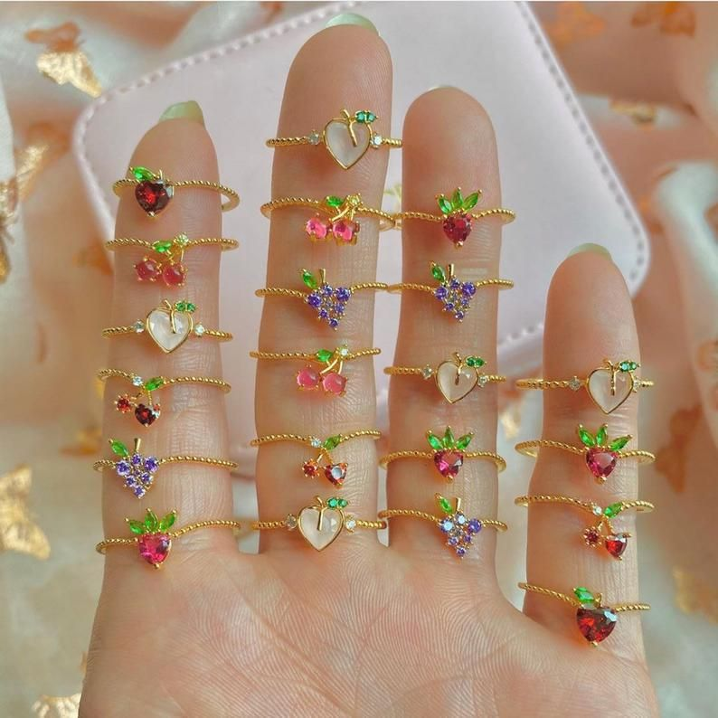 Details about  /Beaded Stackable Ring