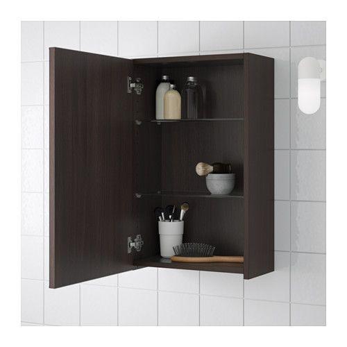 20++ Bathroom wall cabinets brown model