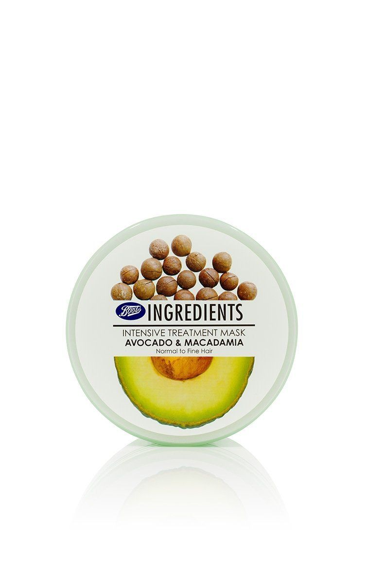 Boots Ingredients Intensive Treatment Mask Avocado and Macadamia 400 ml. *** Find out more about the great product at the image link.