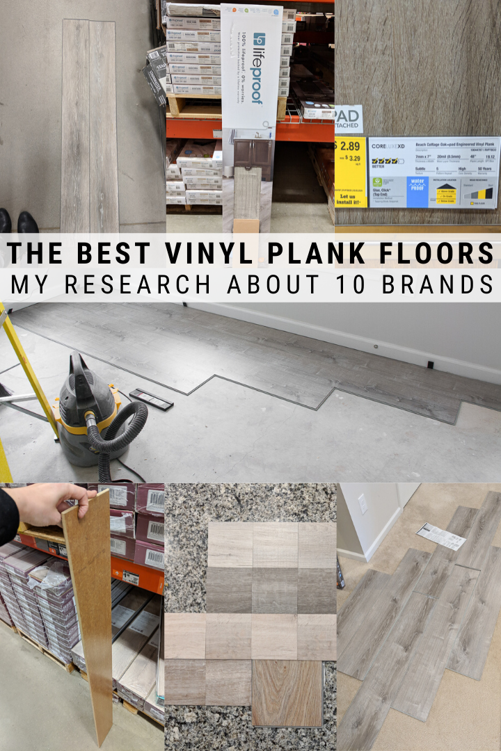 10 Of The Best Vinyl Plank Flooring Reviews From A Homeowner In 2020 Vinyl Plank Vinyl Plank Flooring Basement Vinyl Plank Flooring
