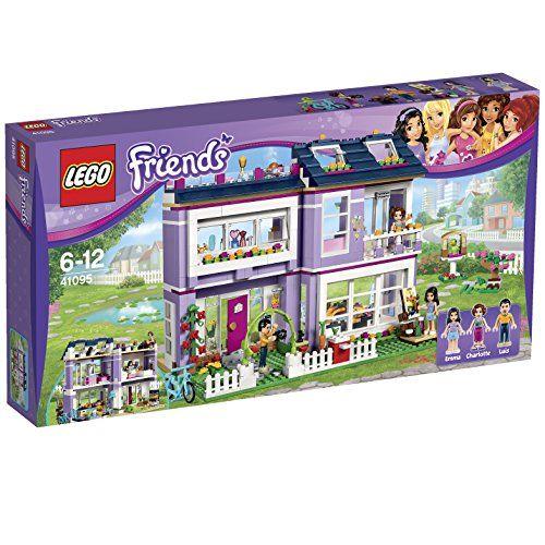 Lego Friends - 41095 - Jeu De Construction - La Maison Du0027Emma LEGO - jeux de construction de maison en d