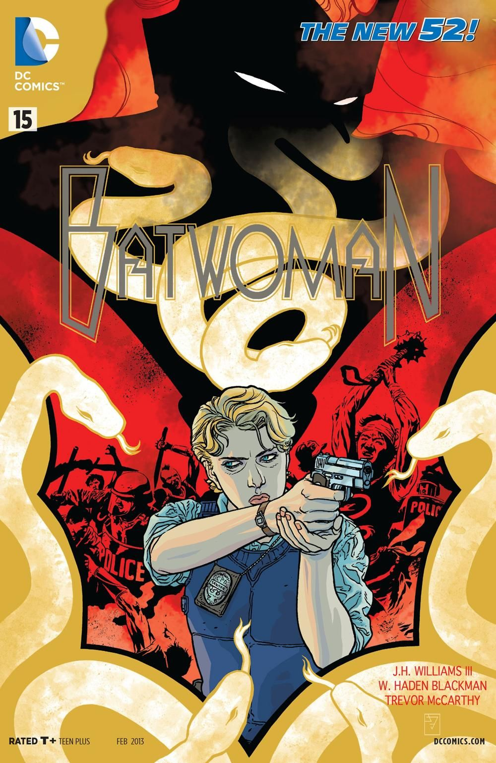 Batwoman (Volume 1) Issue 15 by J.H. Williams III