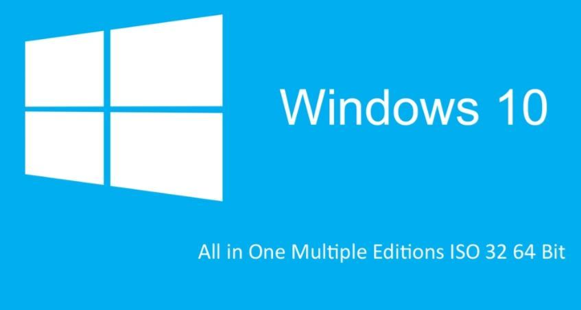Download free Windows 10 All in One ISO [ 32/64 bit activated