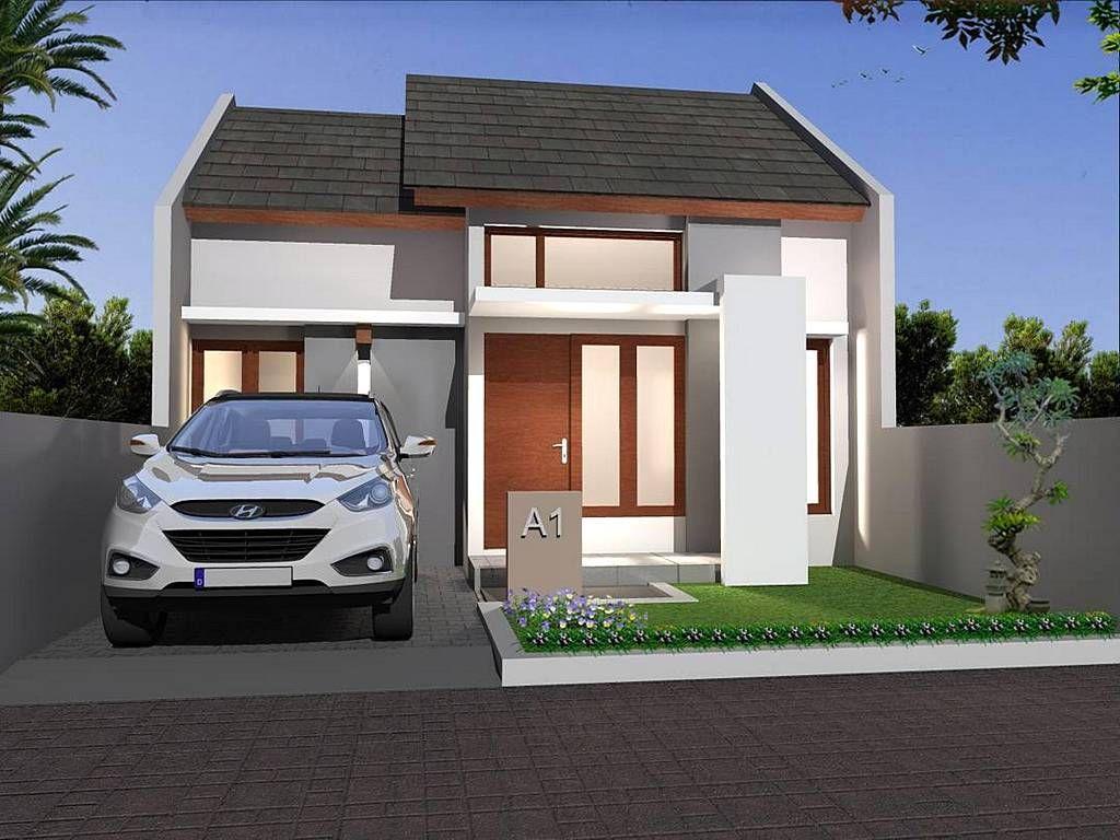 Model Rumah Minimalis Sederhana Dengan Taman Minimalis Tampak Depan Desain Rumah Kecil Desain Eksterior Rumah Rumah Minimalis