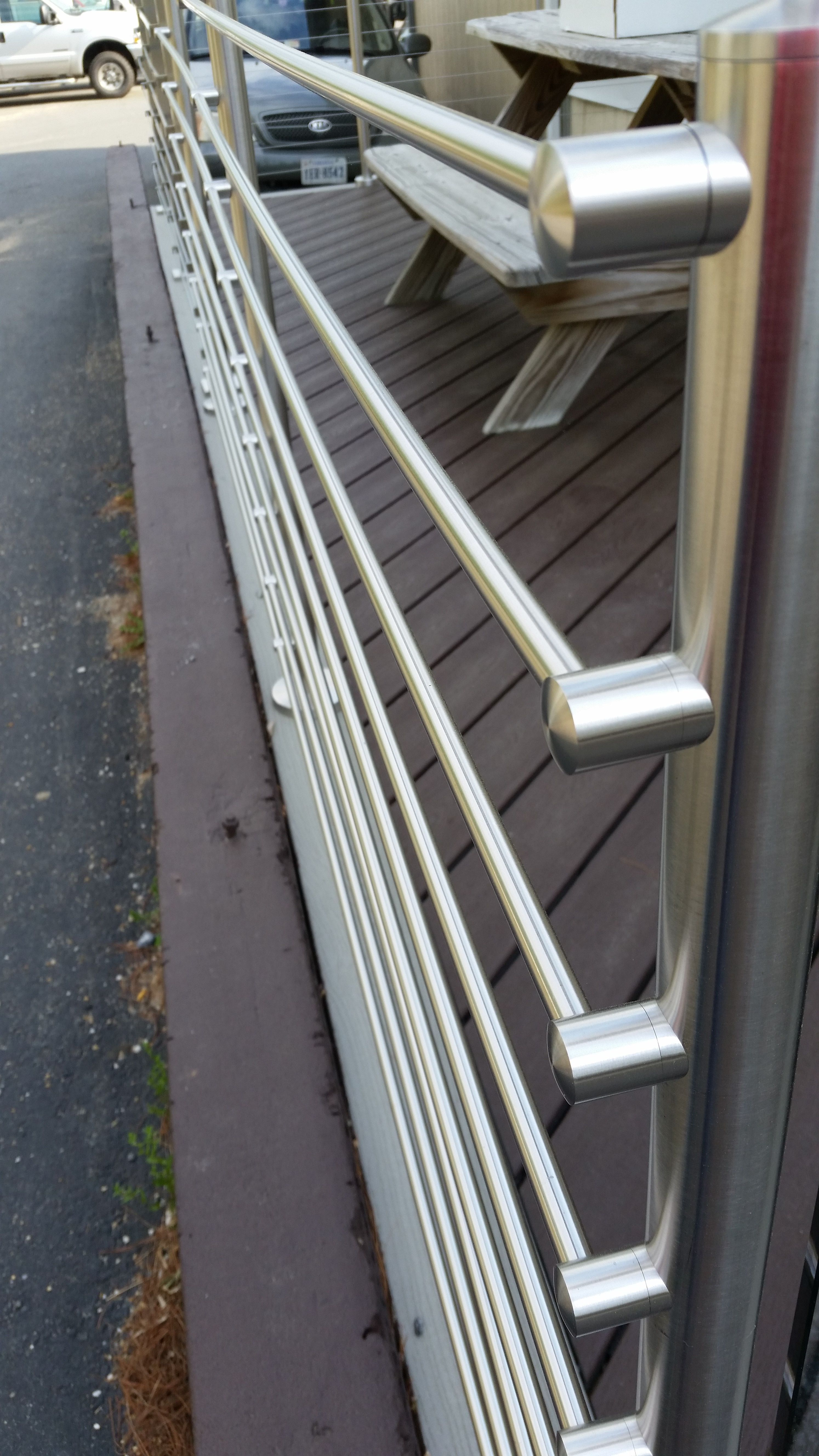 Loudoun Stairs Outdoor Railing