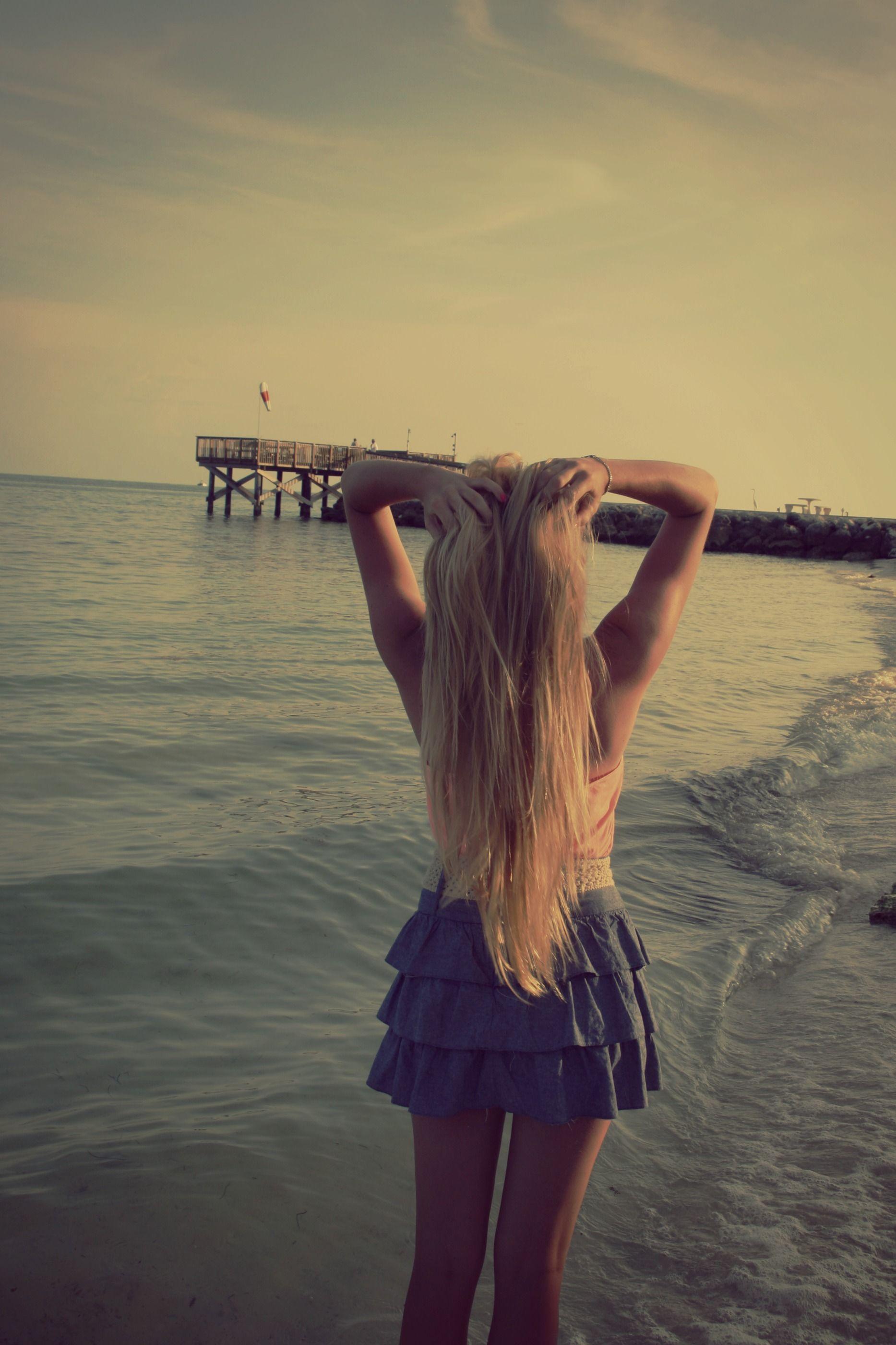 beach<3   #hair