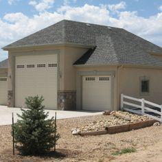 Detached Rv Garage Hip Roof House Ideas Garages Design