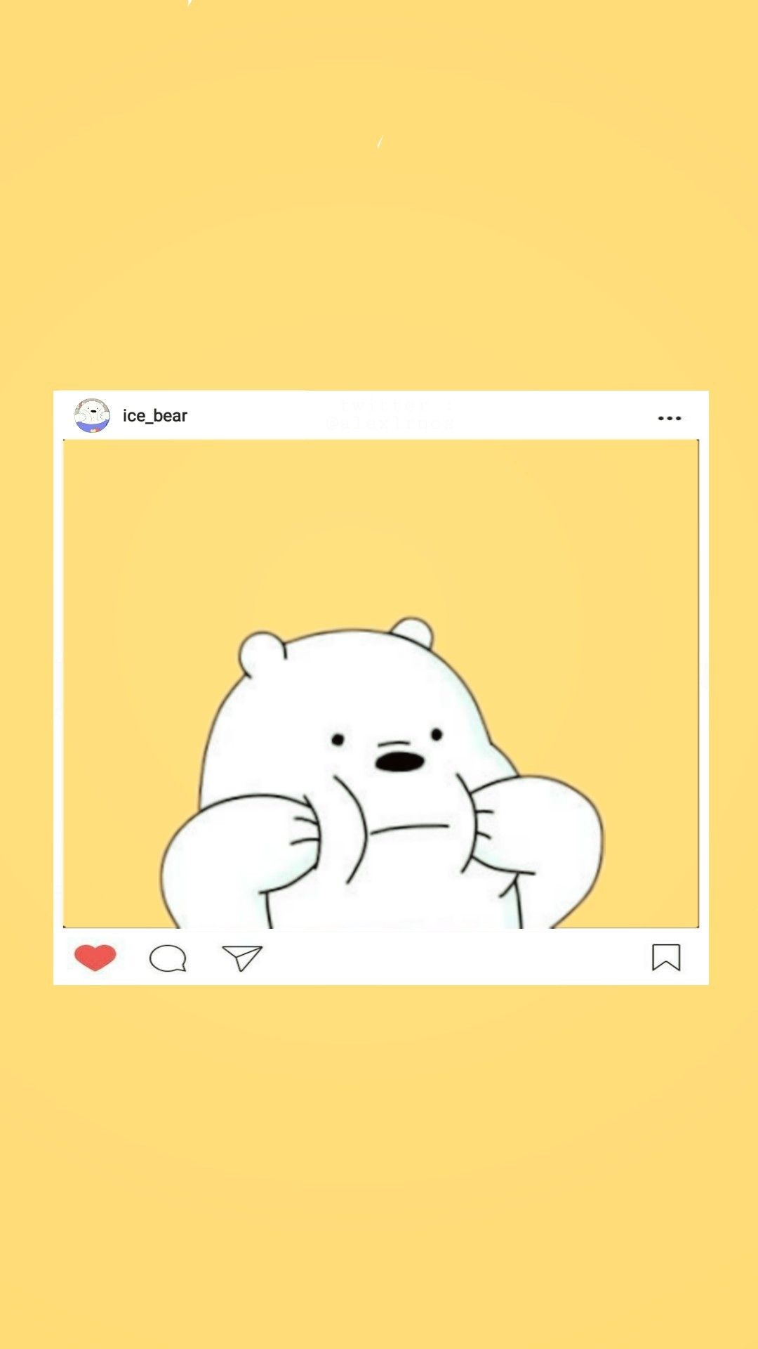Ice Bear ❄☃️ Webarebears Icebear Wallpaper Lockscreen