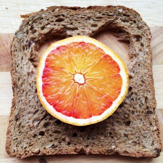Breakfast  http://www.my-camino.de/spiegelei-im-brot/
