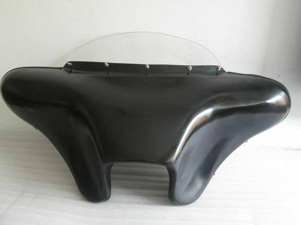 BATWING FAIRING WINDSHIELD 4 HARLEY SPORTSTER 1200 883 SUPER LOW IRON F10-1 GC