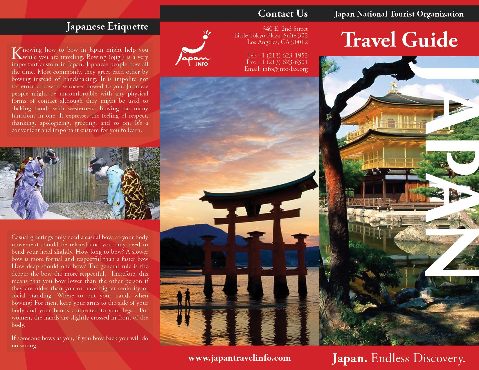 travel brochures examples project