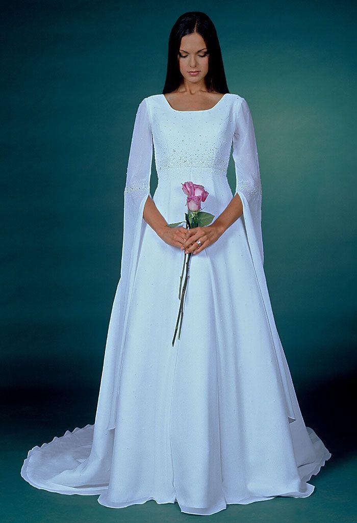 Modest Wedding Dress Patterns To Sew - http://ideasforwedding.co ...