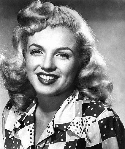 Marilyn Monroe rare photograph young