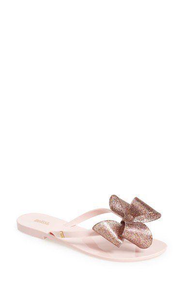 a1625ea2d01 Melissa  Harmonic Bow  Jelly Thong Sandal (Women)