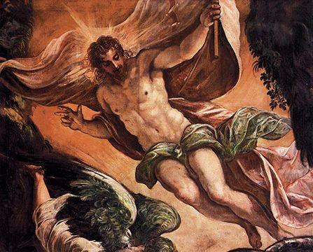 A ressurreição de Jesus III  Ao terceiro dia ressurgiu dos mortos. Esta é a mensagem da Páscoa. Ela assegura que não foi em vão que Deus humilhou-se a si mesmo em seu filho. Fazendo isto, ele pode retornar a sua própria honra e confirmar a sua própria glória. Por sua misericórdia, triunfou sobre a sua humilhação e o resultado é a exaltação de Jesus Cristo. Na ressurreição de Jesus, o homem é exaltado e apontado como aquele que se tornou livre na morte de Cristo