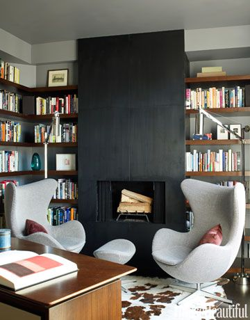 45 Classic Library Design Ideas Librerías, Estantes para libros y