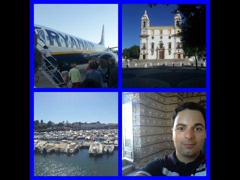 Viagem a Faro - (Voos, Capela dos Ossos, Passeio de Barco na Ria Formosa e mais) - YouTube