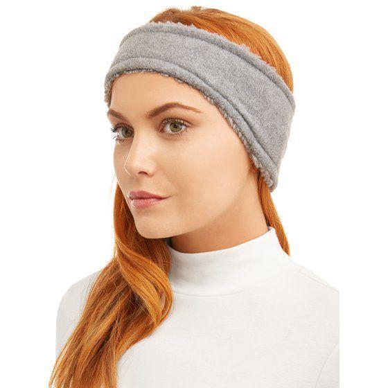 Time and Tru - Time And Tru Ladies Fleece Headband - Walmart.com 28750364900
