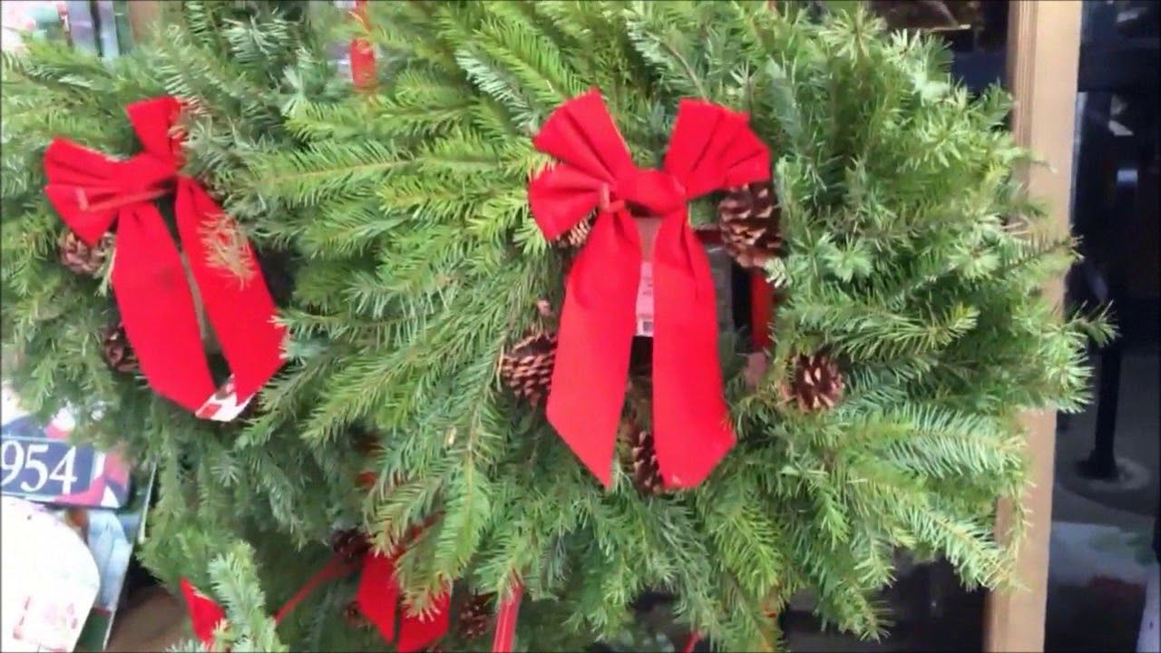 looking at beautiful christmas decorations inside and outside at wegmans - Is Wegmans Open On Christmas
