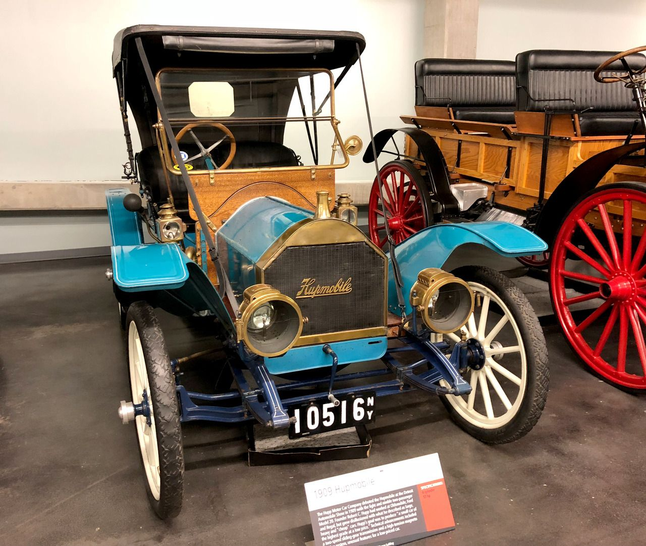 1909 Hupmobile Model 20 Roadster At America S Car Museum In Tacoma Washington The Model 20 Was The First Hupmobile Before He Started The Hupp Motor Car Compa