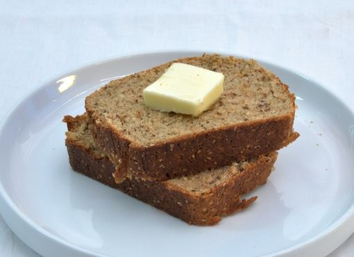 Bob's Red Mill low carb bread -- only 5 net carbs per slice!!