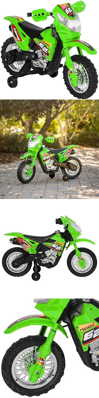Bcp 6v Kids Electric Ride On Motorcycle Toy W Training Wheels Lights Music Ride On Toys Kids Ride On Track Toy