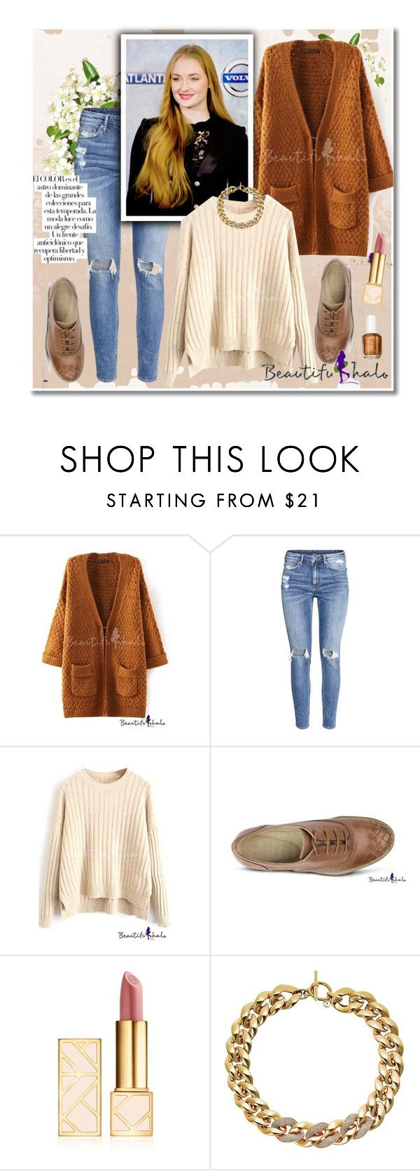 """Beautifulhalo"" by dora04 ❤ liked on Polyvore featuring H&M, Tory Burch, Michael Kors, Arco and bhalo"
