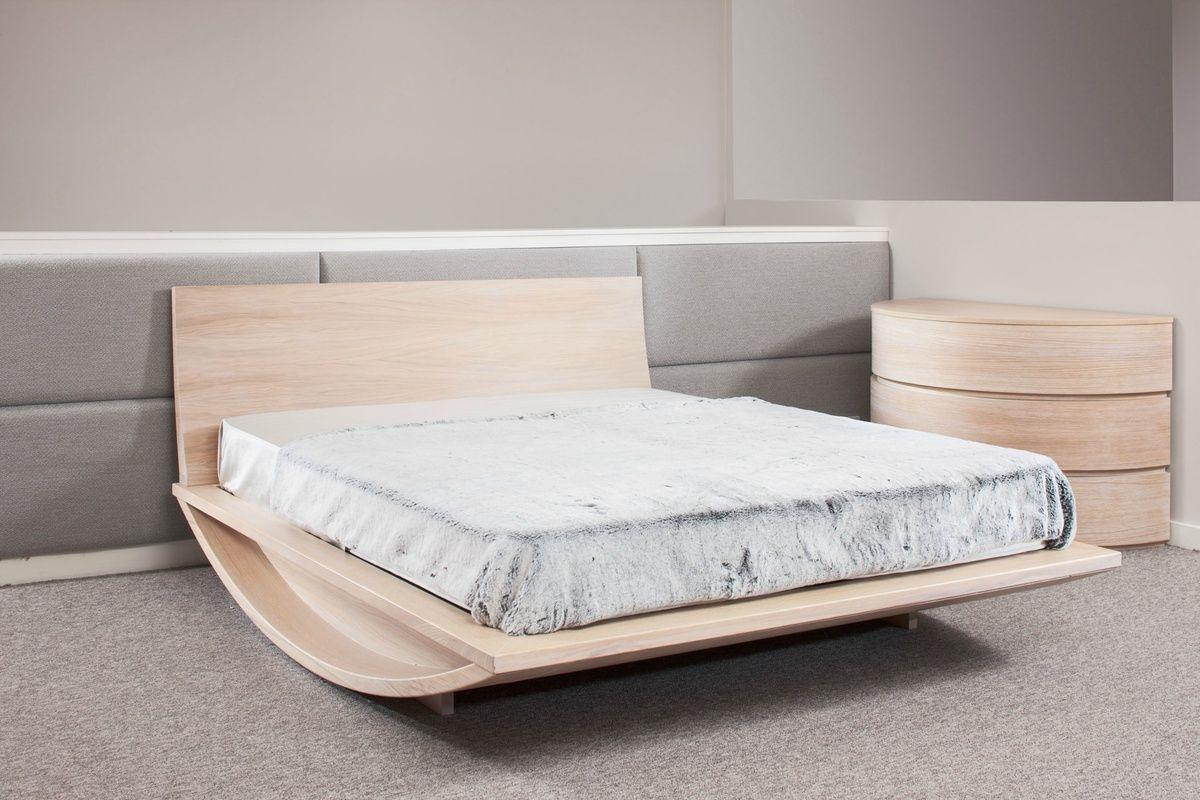Mazzali Emiselene Modern Wooden Bed-SALE-Ex-Display  Luxury