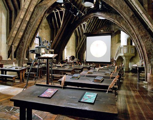 Defense Against The Dark Arts Classroom Harry Potter Classroom