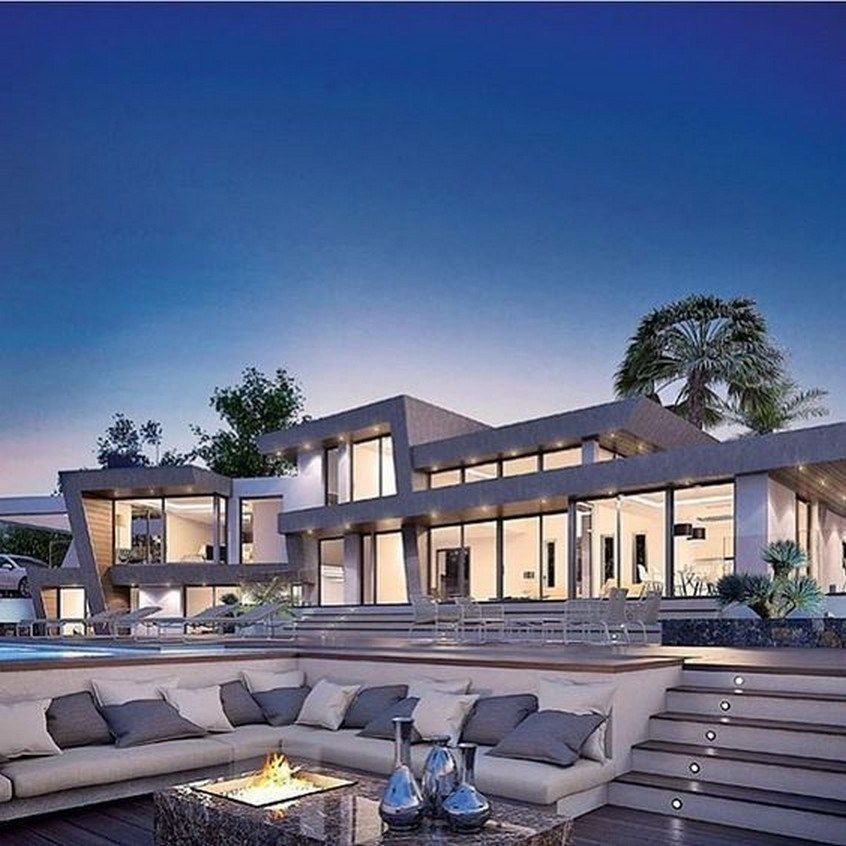 52 Most Popular Modern Dream House Exterior Design Ideas 15 Fieltro Net Luxury Homes Dream Houses Fancy Houses Mansions