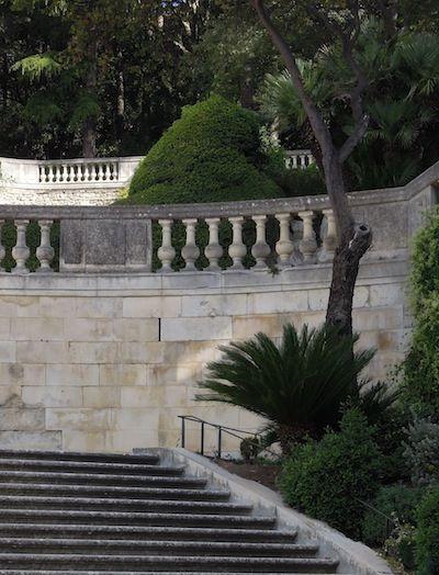 Nimes Les Jardins De La Fontaine Amenages Au Milieu Du Xviiie S