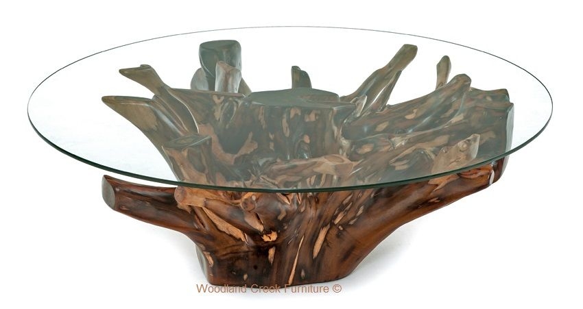 Branch Coffee Table Natural Furniture Organic Solid Wood Stump Coffee Table Tree Stump Coffee Table Organic Coffee Table