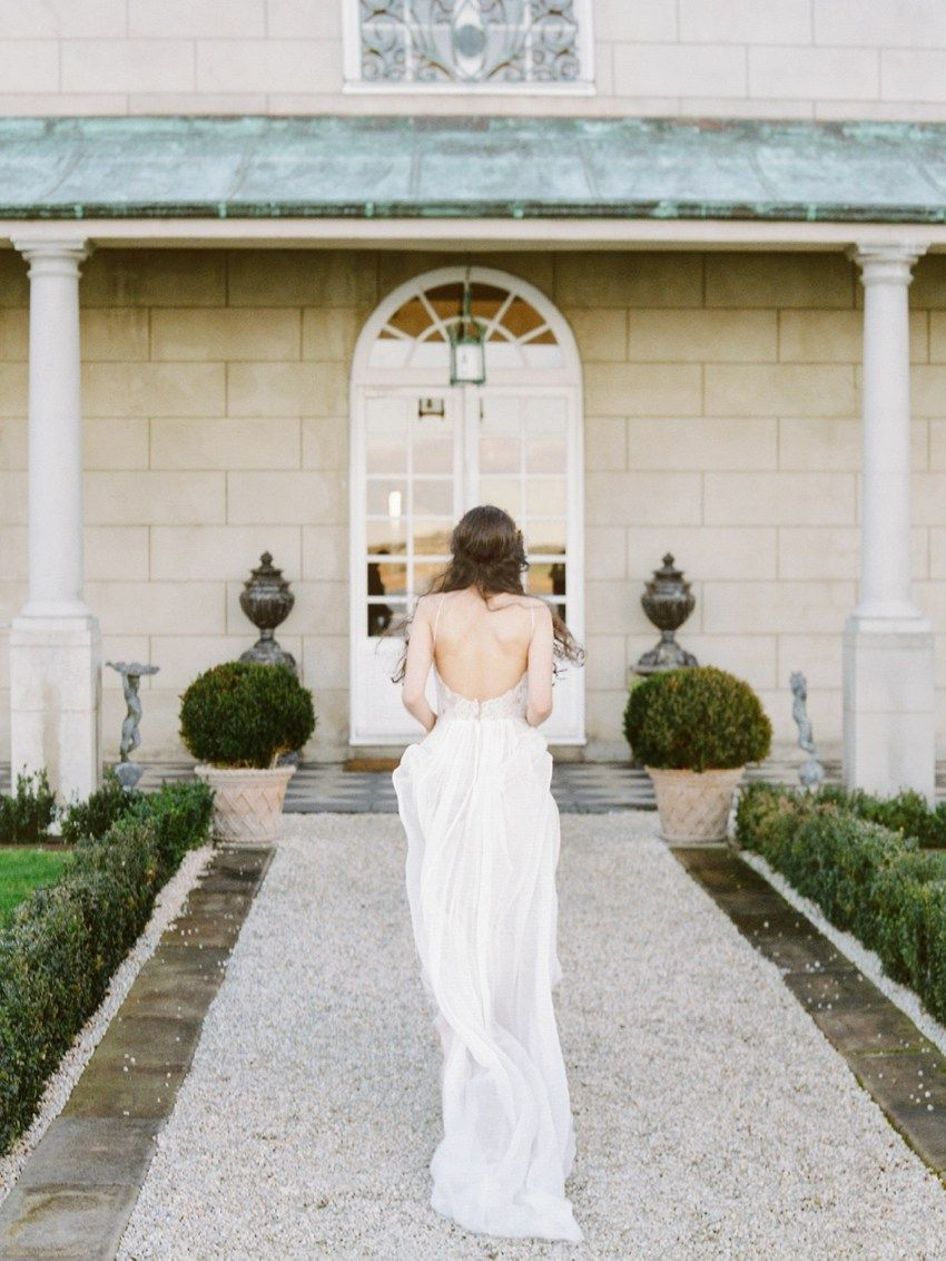 Fairy tale dream at campbell point house wedding dresses