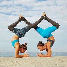 extreme yoga challenge for two people  modern life
