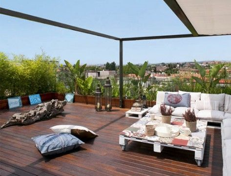 terrazzi fioriti - Cerca con Google | arredamento | Pinterest ...