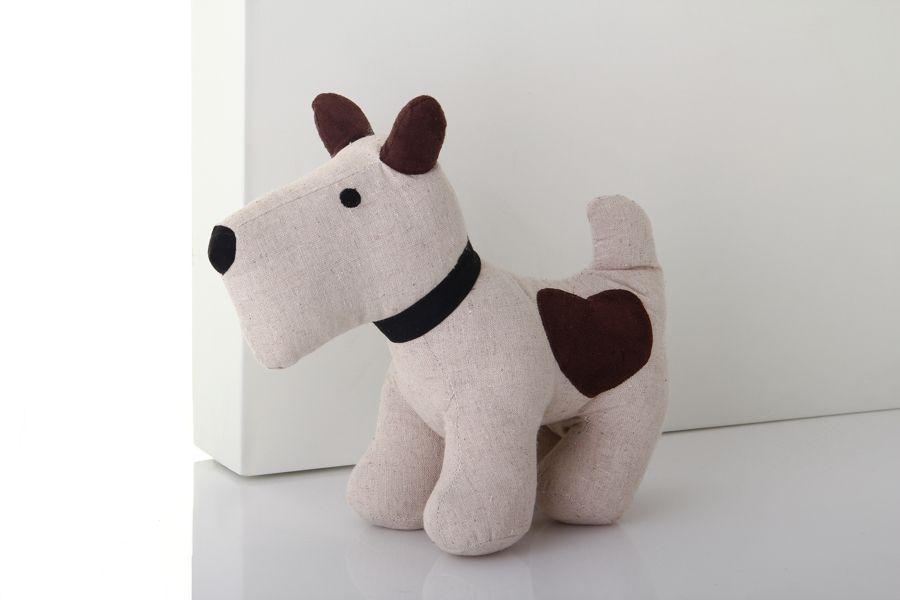 Tope para puertas con forma de perro mundo amanda for Puerta para perros