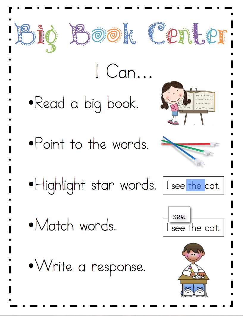 writing centers for kindergarten Learning to read and write doesn't have to be boring these literacy activities for  preschoolers will help them develop the skills to read and.