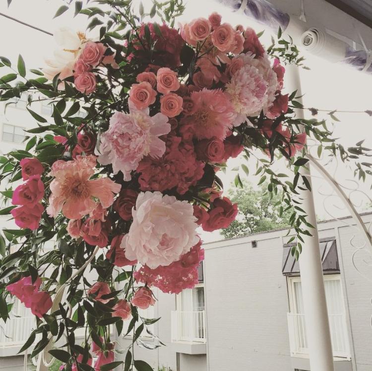 Weddings Florals At Hotel Ella, A Historic Boutique Hotel