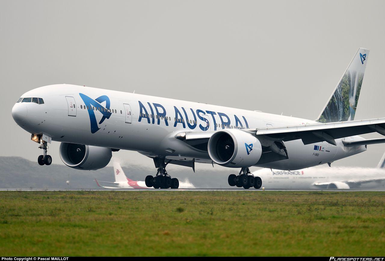 F Onou Air Austral Boeing 777 3q8 Er Boeing 777 Boeing Aviation