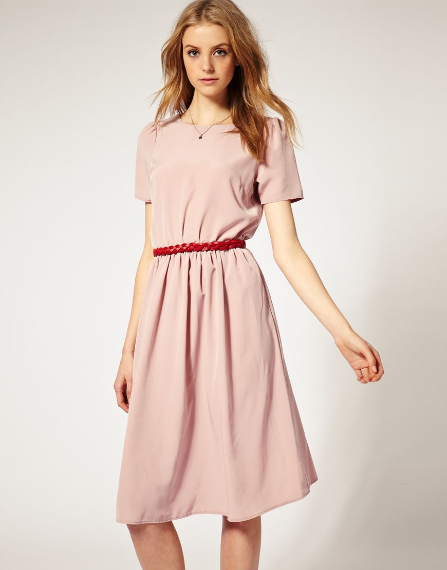 Midi length dress perfect for my long legs as most dresses turn out