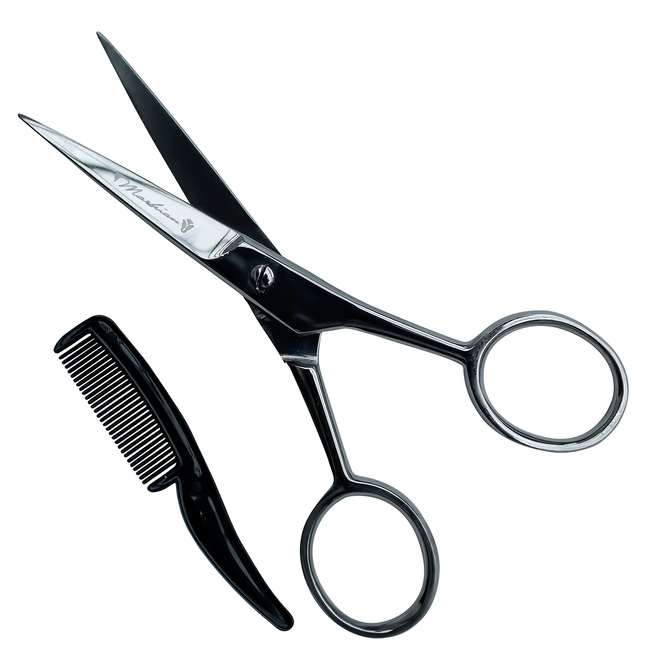 Beard scissors with comb by marbeian this set makes beard