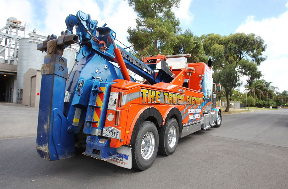 Services Given By the Tow Truck Adelaide Tow truck